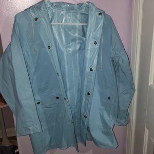 Jackets & Blazers - reversible rain coat