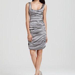 ELIE TAHARI Womens Dress SADIE Rouching Slvlss 10
