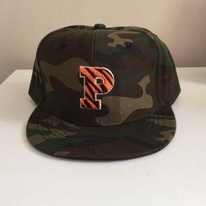 Camo preppy Princeton University Baseball Hat