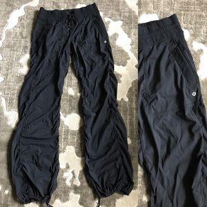 Lululemon nylon cargo lightweight pants black