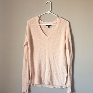 Banana republic pink knit - size small