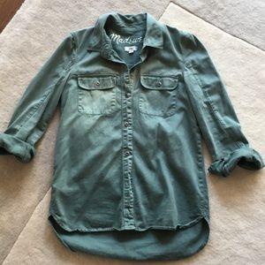 Madewell utility shirt