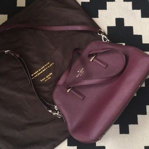 Kate spade hand bag with cross body strap
