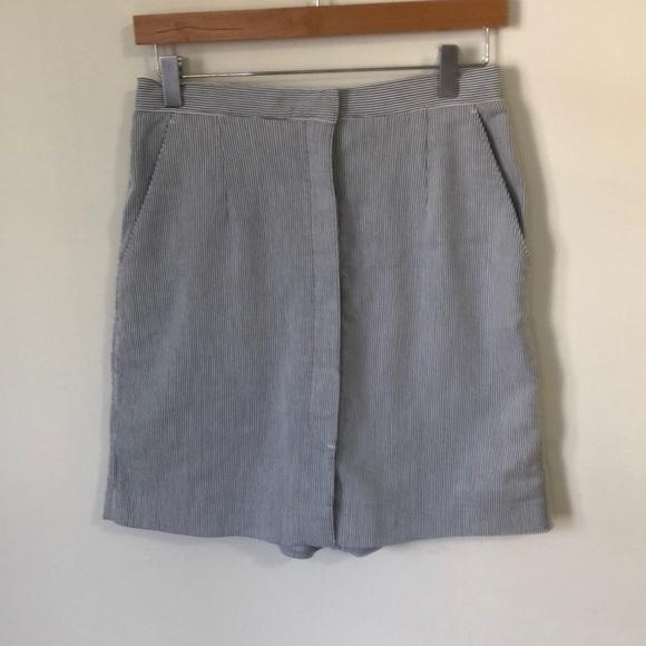 Liz Claiborne Pants - Retro Seersucker Skort