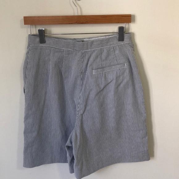Liz Claiborne Shorts - Retro Seersucker Skort