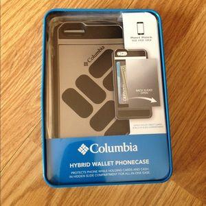 NIB Columbia Hybrid Wallet Phone case  iPhone 6 6s