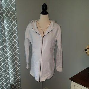 Liz Lange Maternity zip-up hoodie