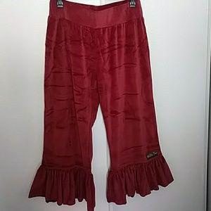 Matilda Jane cranberry pants