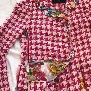 D&G Dolce & Gabbana fuchsia blazer