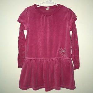 Girls long-sleeve dress