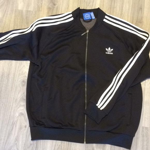 Adidas jackets & Coats ligeramente usado chandal chaqueta XXL poshmark