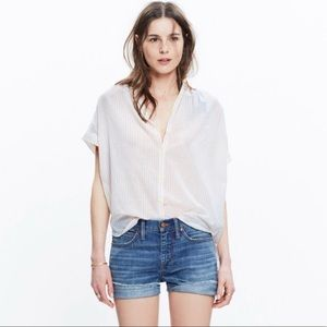 Madewell Central Shirt in Lismore Stripe