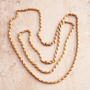 Classic 70's Gold Fashion Necklace  Set by Monet