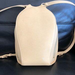 LOUIS Vuitton epi mabillon backpack vanilla