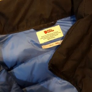 FJALL RAVEN Down and Canvas Coat