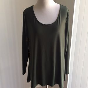 Misia Forest Green Top