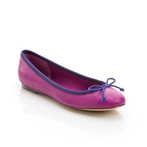 Fuschia ShoeMint 'Katie' ballet flats