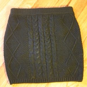 Mossimo Knitted Skirt Size XP/TP NWOT