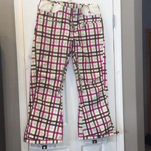 Women's Roxy snow pants size L
