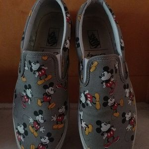 Vans x Disney Limited Edition Mickey Mouse slip-on