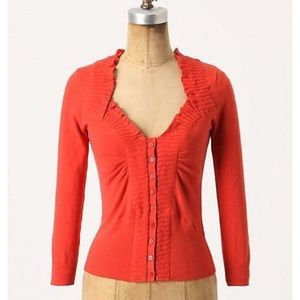 Anthropologie orchard house cardigan