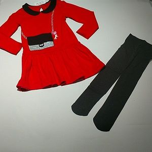 GIRL'S HOLIDAY OUTFIT
