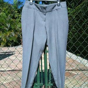 Worthington Pants - Curvy Fit Heather Grey Cigarette Ankle Pants NWOT