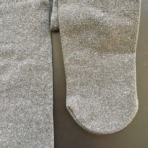 Urban Outfitters fleece-lined *footed* tights