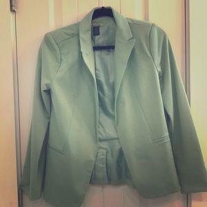 Light green blazer