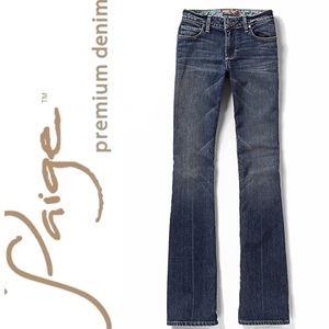 Paige Vintage Paige Bootcut Jeans Size 27 EUC