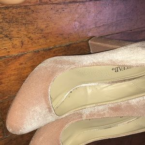 Suede JustFab shoes