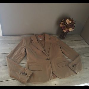NWT Merona Women's Camel Colored Blazer Jacket, 8