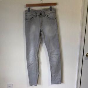Light Grey Zara Skinny Jeans