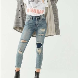 BDG Twig Crop High-Rise Skinny Jean