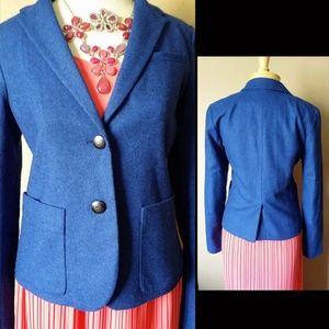 EUC Women's Royal Blue Blazer