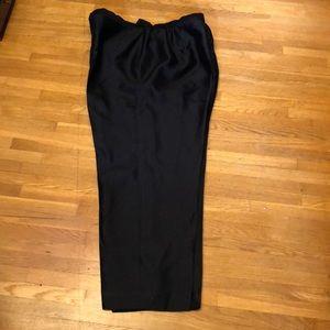 Dana Buchanan Woman Black Silk Pants