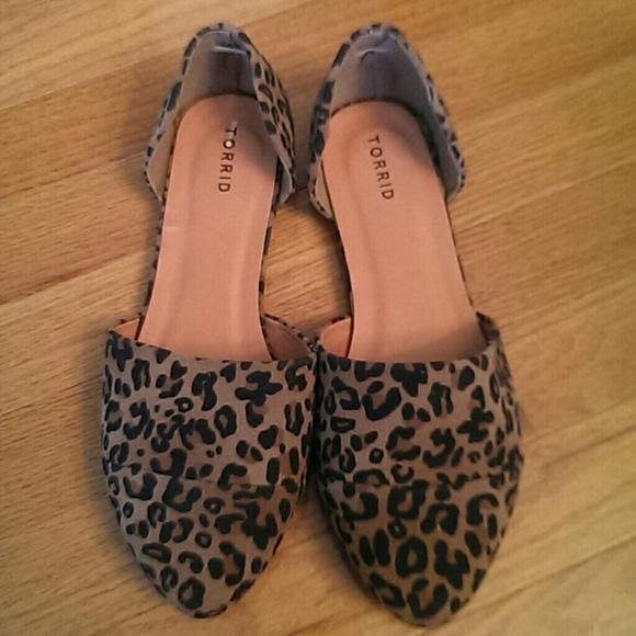 torrid Shoes | Leopard Flats Wide Width