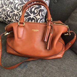 Coach leather bag