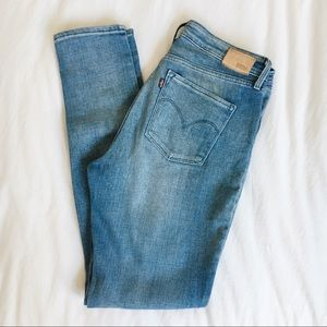 Levi's High Rise Skinny Jeans size 29