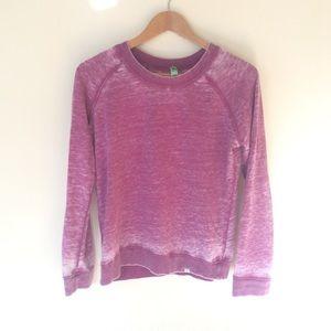Honeydew Long Sleeve Small Sweatshirt