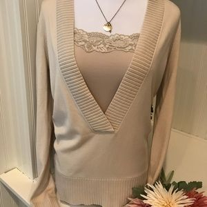 Ann Taylor V Neck Sweater