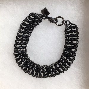 Banana Republic Jewelry - 🆕Black Metal Detail Bracelet