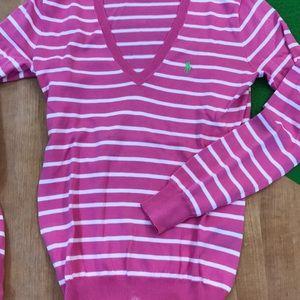 Ralph Lauren V-Neck Thin Sweater