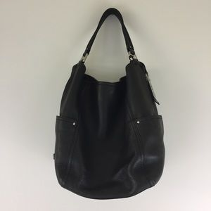 Cole Haan Black Leather Hobo