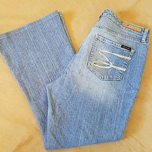 Seven7 flare jeans in excellent condition size 14