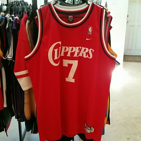 save off c595c bad72 LAMAR ODOM LA CLIPPERS THROWBACK JERSEY