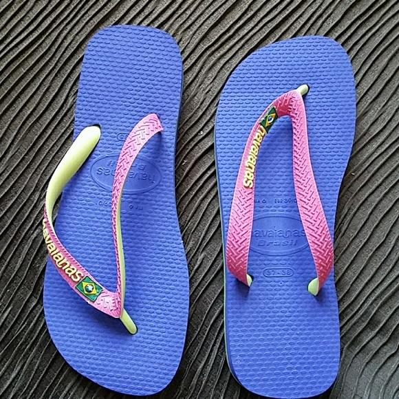 812d1bb6ea0bd NEW Havaianas Size 37-38 Brazil Flip Flops
