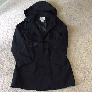 FOG by London Fog Black trench. Size S.