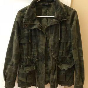 Army green camo jacket