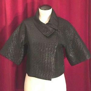 New BCBG Maxazria Crop Blazer Jacket